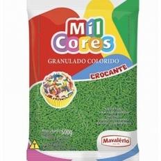 Granulado Crocante Verde 500g Mavalerio