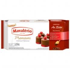 Cobertura Fracionada Chocolate ao Leite Mavalério 2,01kg
