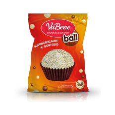 Cereal Micro Ball Branco VaBene 500g