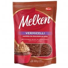 Confeito de Chocolate ao Leite VERMICELLI 400g
