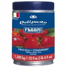Pasta Fabbri Delipaste de Fragola/Morango 1,5KG