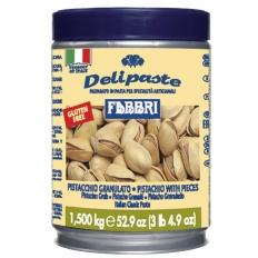 Pasta Fabbri Delipaste de Pistacchio granulato c/ pedaços/Pistache 1,5KG