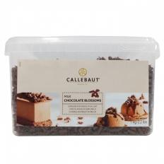 Blossoms Raspas de Chocolate ao Leite 1kg Callebaut