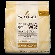 Chocolate Callebaut Branco 400g