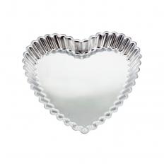 Forma Alumínio Coração Crespa Caparroz