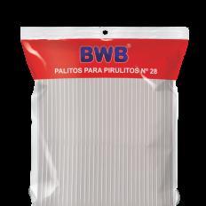 Tira de Pet (¨Palito) N°28 Cristal BWB