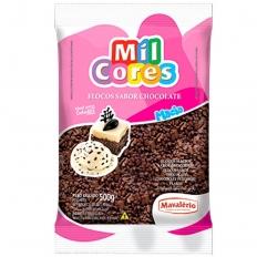 Granulado Macio em Flocos de Chocolate 500g Mavalerio