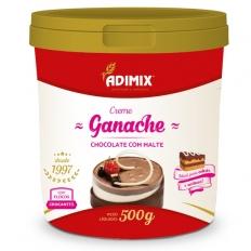 Creme Ganache Chocolate com Malte Adimix 500g