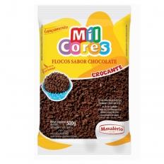 Granulado Flocos Crocantes sabor Chocolate Mavalério 500g