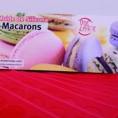 Molde de Silicone Macarons Dos Lembas