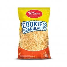 Cookies Granulados Sabor Baunilha VaBene 1kg
