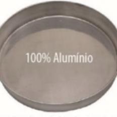 Forma Alumínio Redonda Fundo Fixo 15x5 Dona Lella