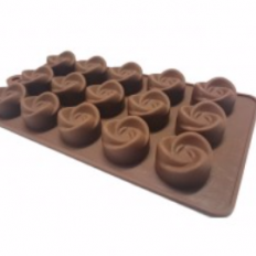 Forma de Silicone para Chocolate Rose Prime Chef