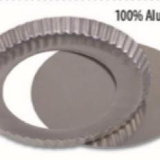 Forma Alumínio Torta Fundo Falso 15x3 Dona Lella